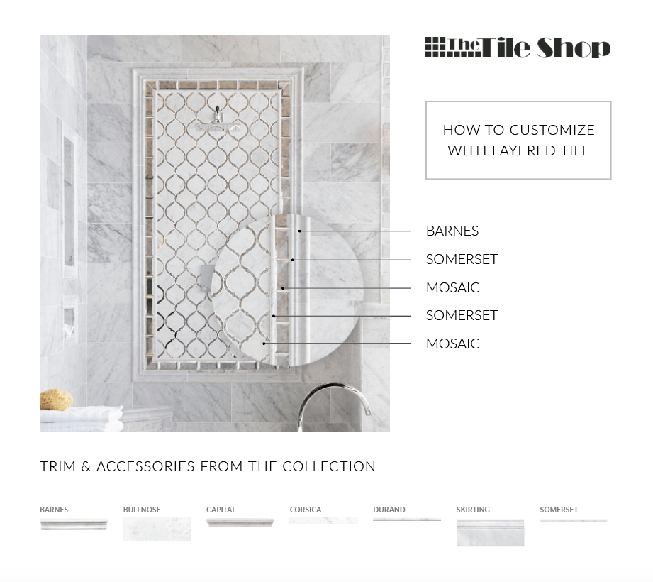 A guide to customizing with layered tile.