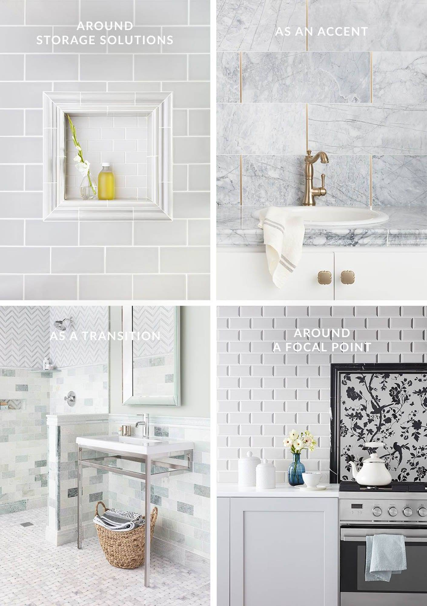 4 ways to layer your tile