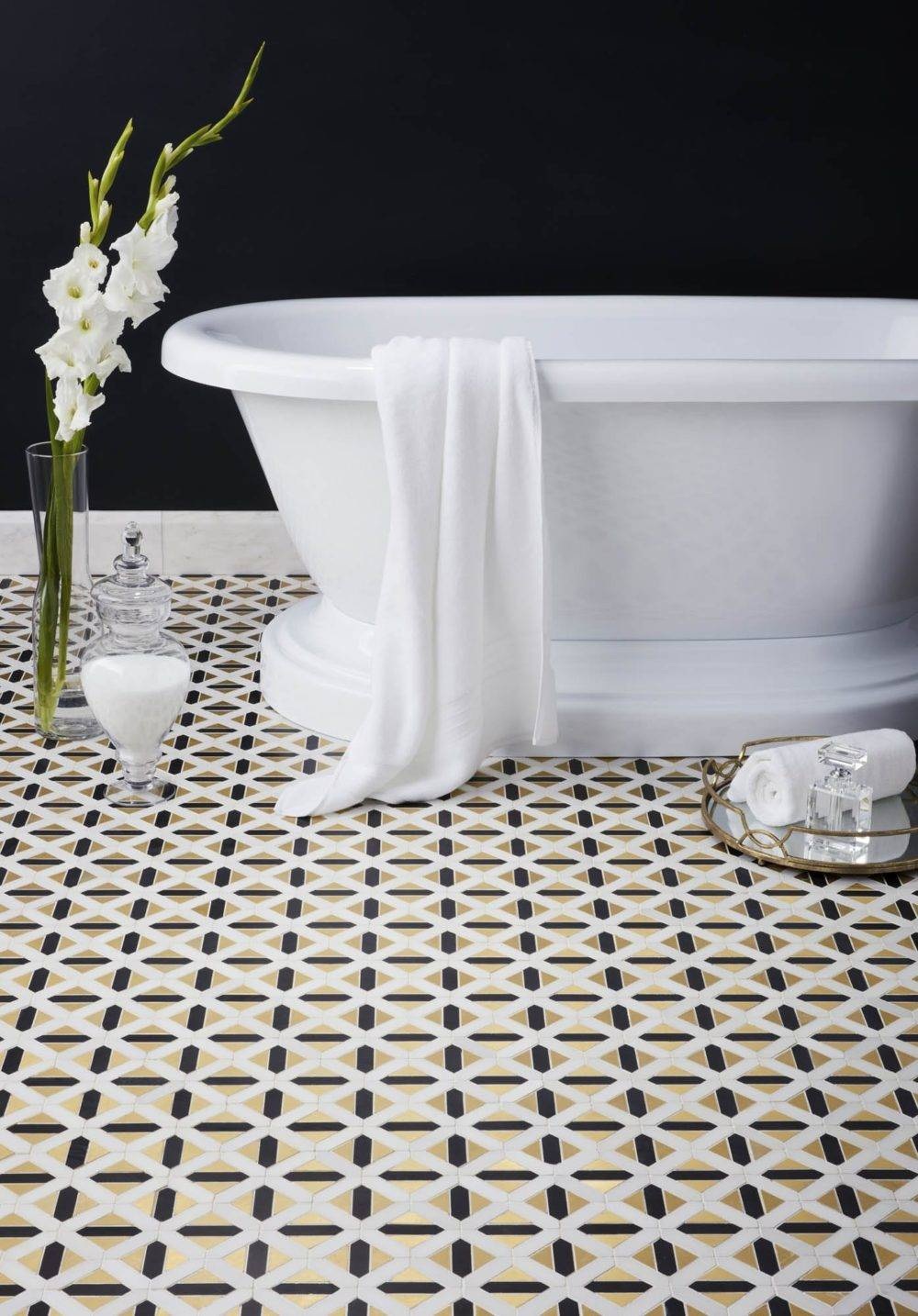 Gilded Glamour How To Tile In Art Deco