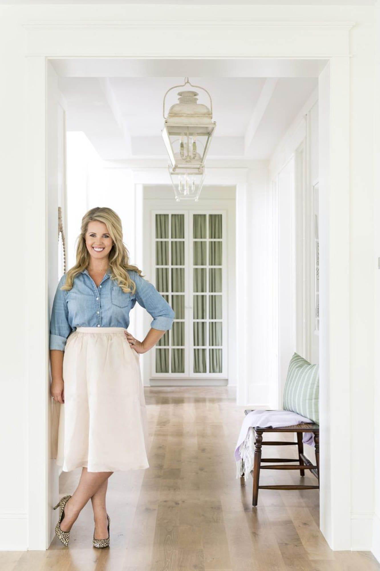 Interior designer Bria Hammel