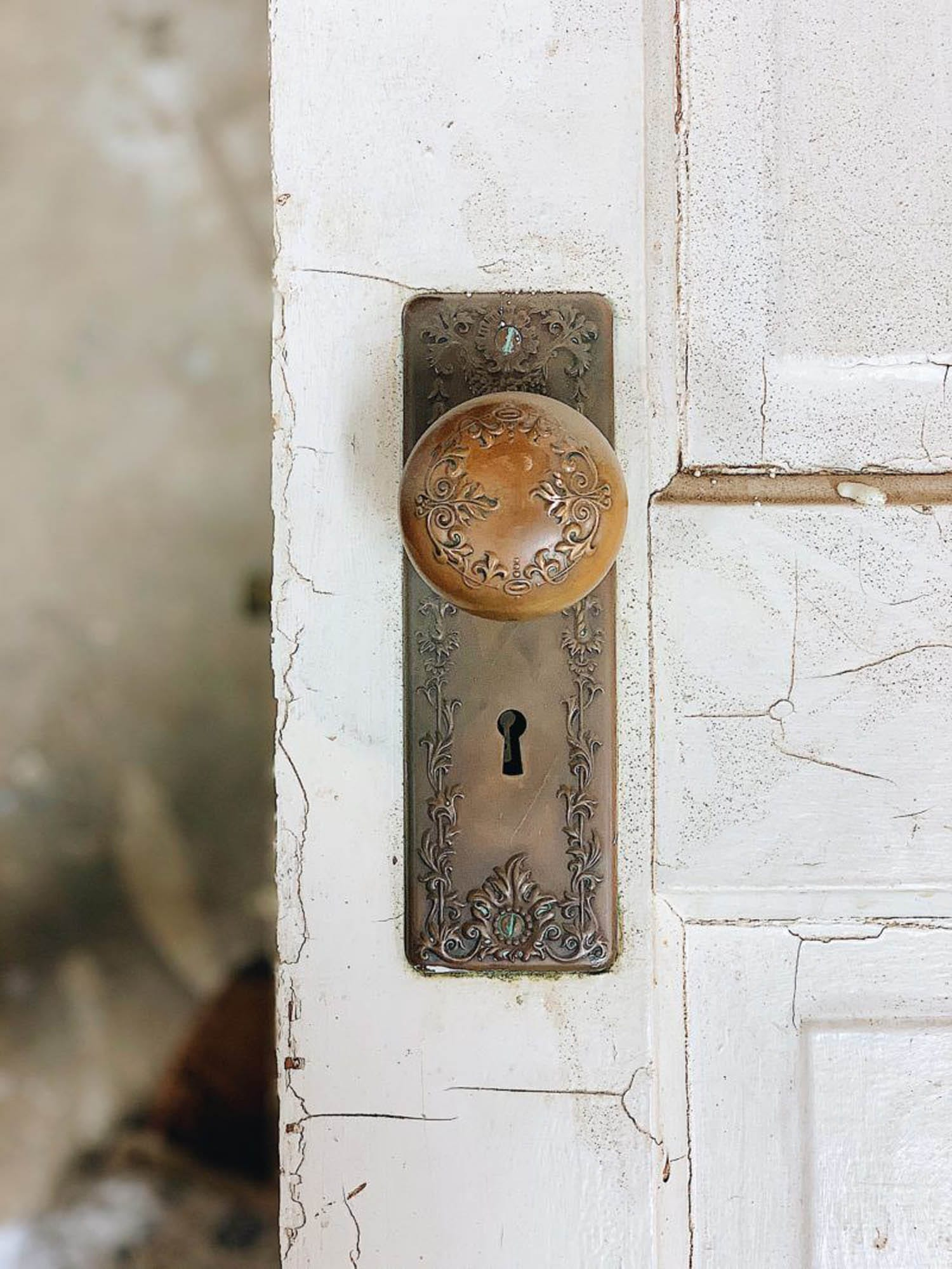 Antique doorknob