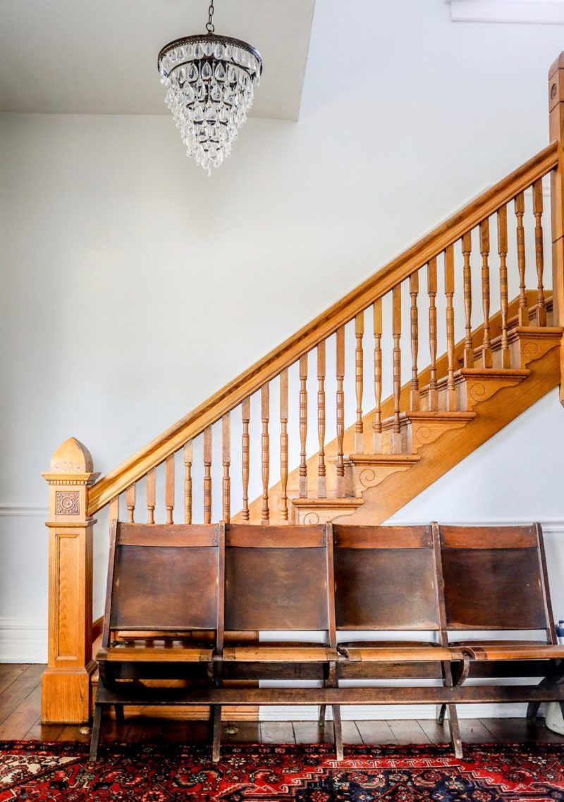 Staircase and chairs