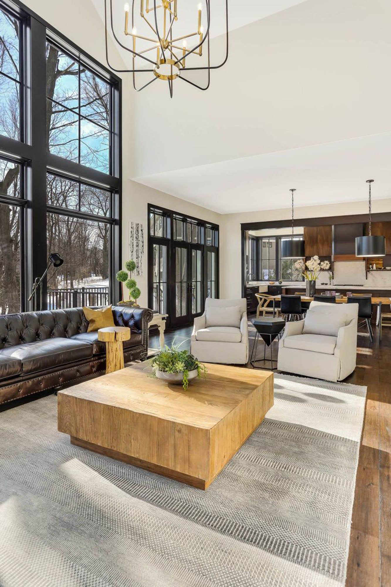 living room, open concept