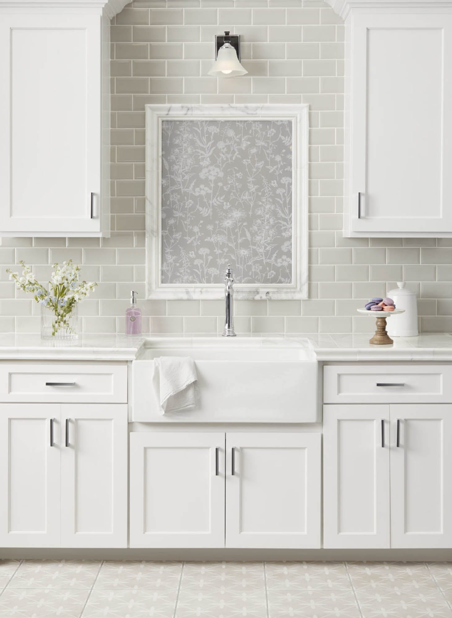 Laura Ashley kitchen tile