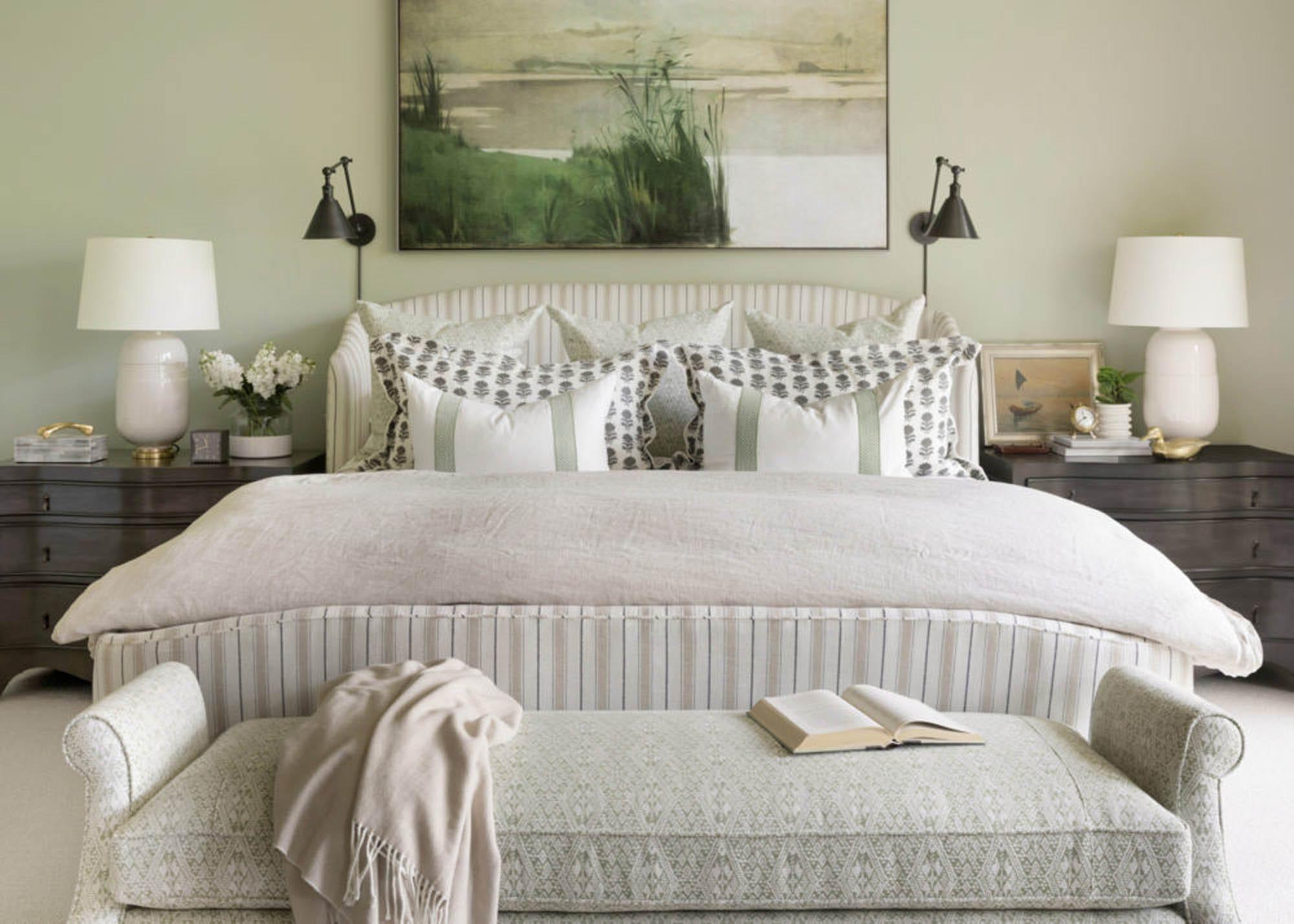 A Bria Hammel Interiors' bedroom