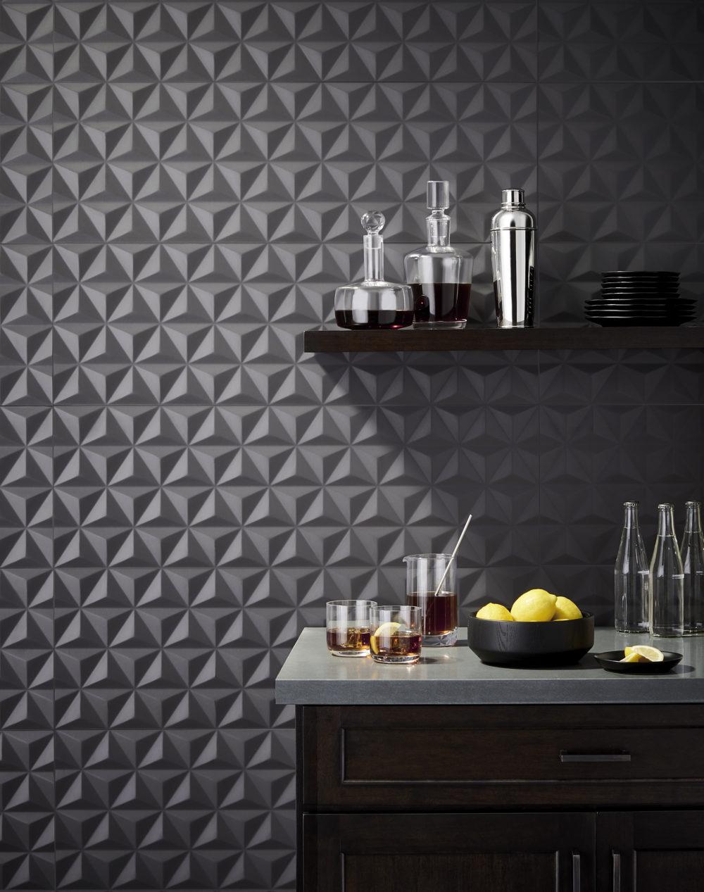 black bar tile