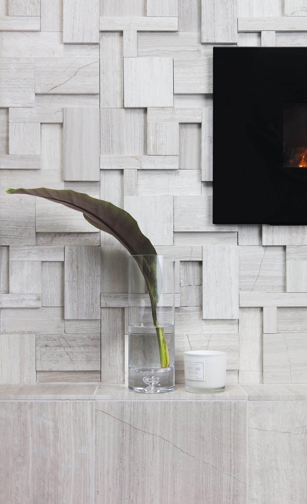 travertine mosaic geometric tile