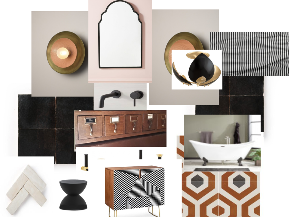 Kate Pearce guest ensuite mood board