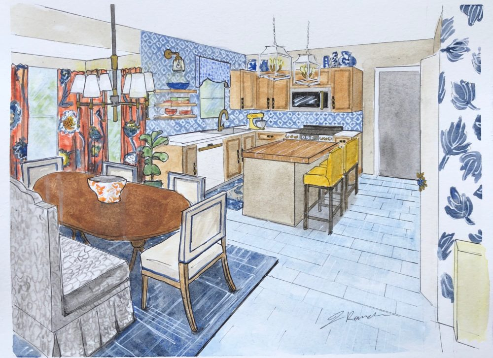 Dwell by Cheryl kitchen mood board